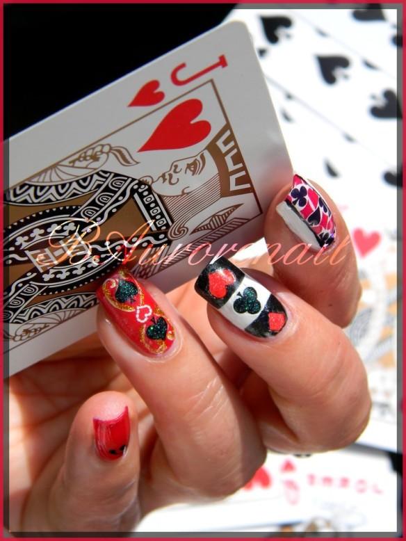 nail art cartes a jouer 7