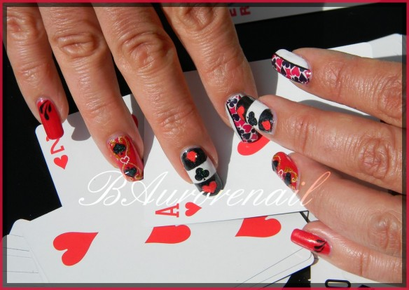 nail art cartes a jouer 8