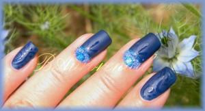 nail art sur flormar mat 8