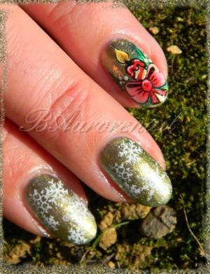 nail art des boigies pour Noel 10