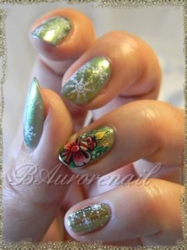 nail art des boigies pour Noel 3