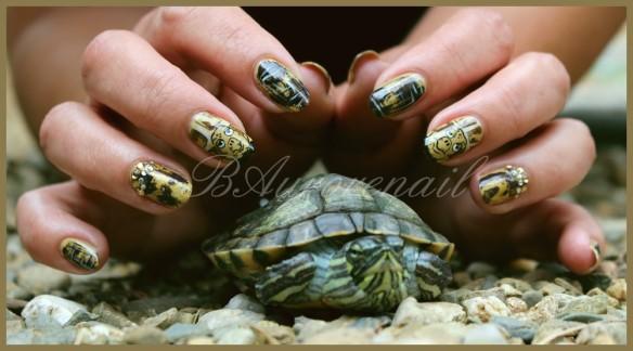 nail art tortue 7
